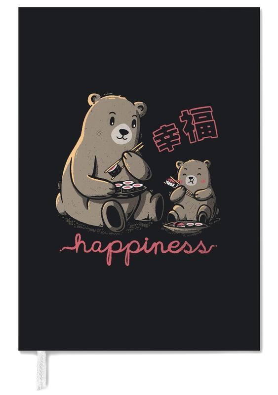 Ours, Art pour enfants, Happiness Sushi agenda