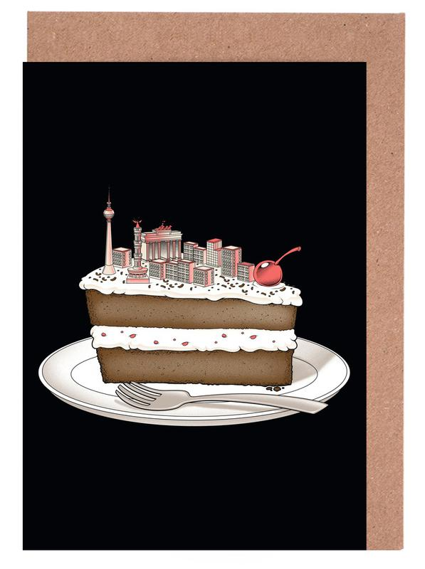 Berlin Hungry for Travel Greeting Card Set