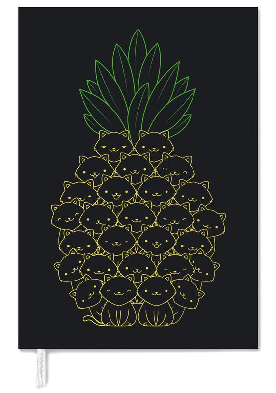 Pineapples, Nursery & Art for Kids, Cats, Pineaple Cat Personal Planner