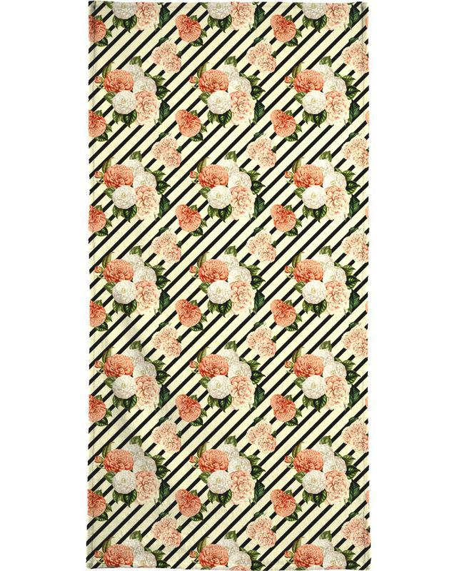 Chrysanthemum Rain -Strandtuch