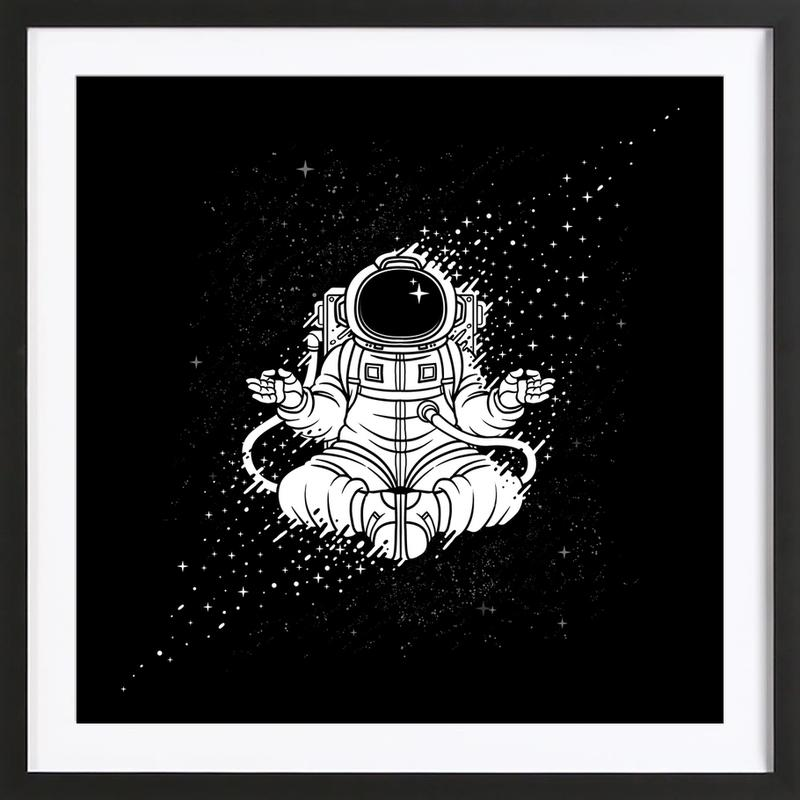 Becoming One With The Universe Framed Print