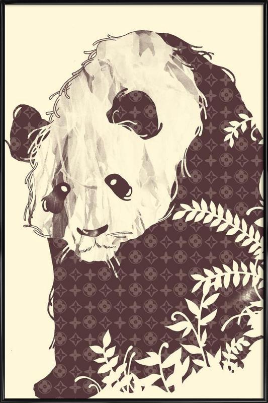 New Brand Panda Framed Poster
