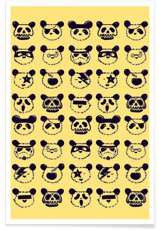 Pandas, Pop Panda affiche