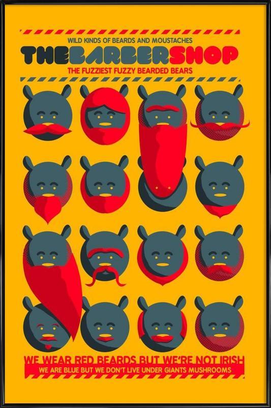 The Barbershop Framed Poster