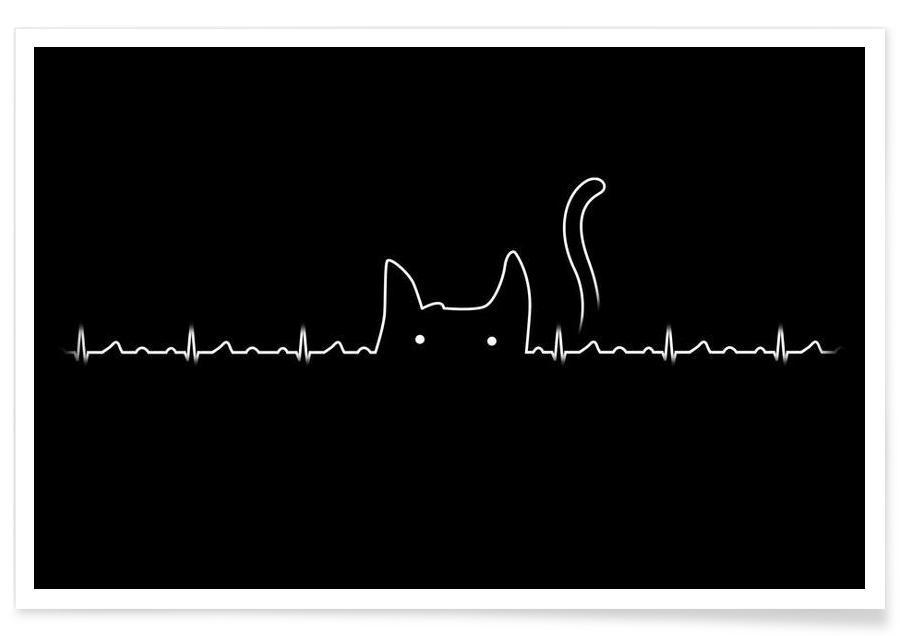 There is a cat in my heart affiche
