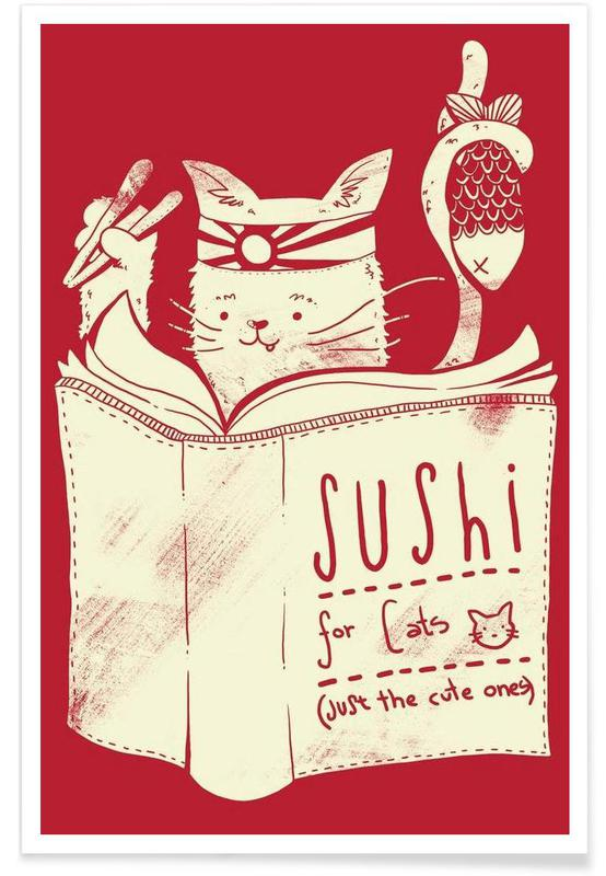 Sushi for cats -Poster