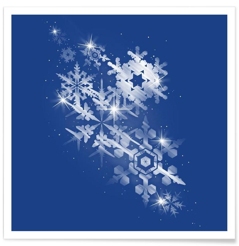 Snowflakes of hope poster