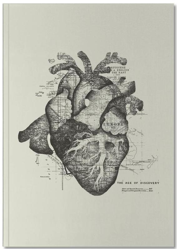 Restless heart Notebook