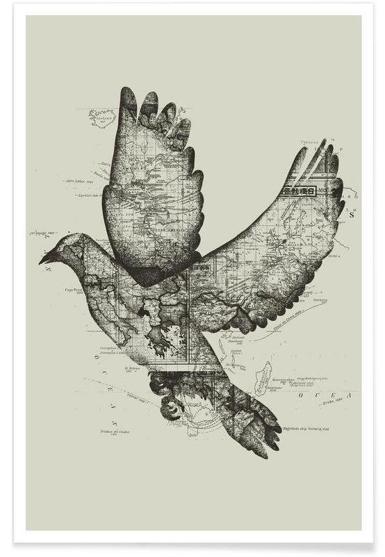 Black & White, Wanderlust Poster