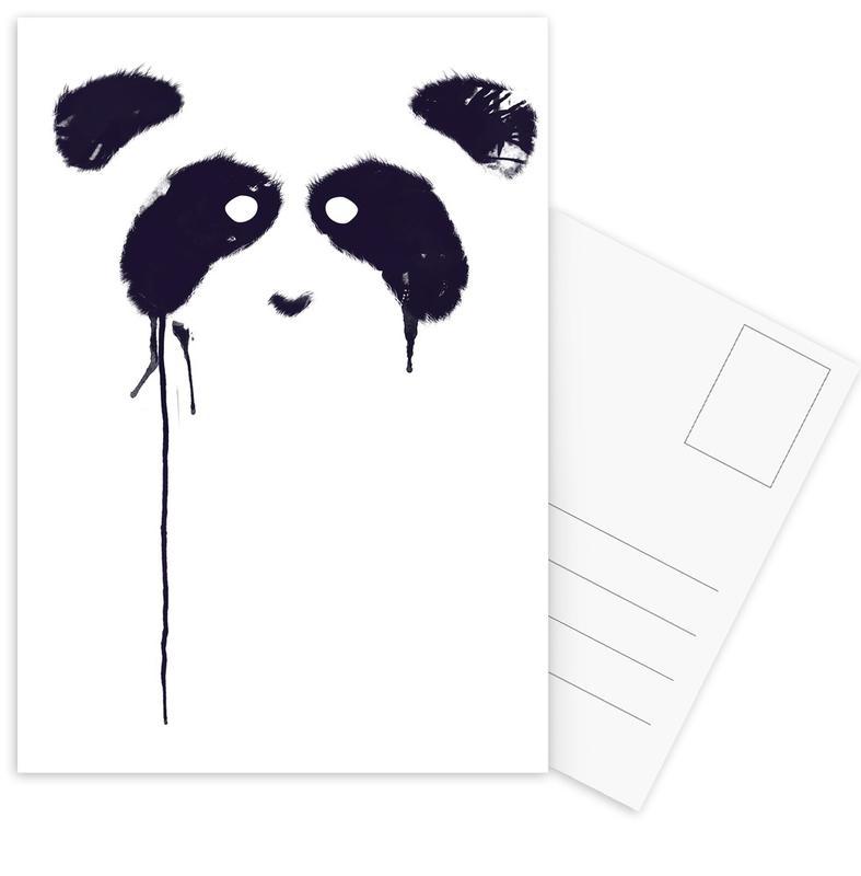 Panda -Postkartenset