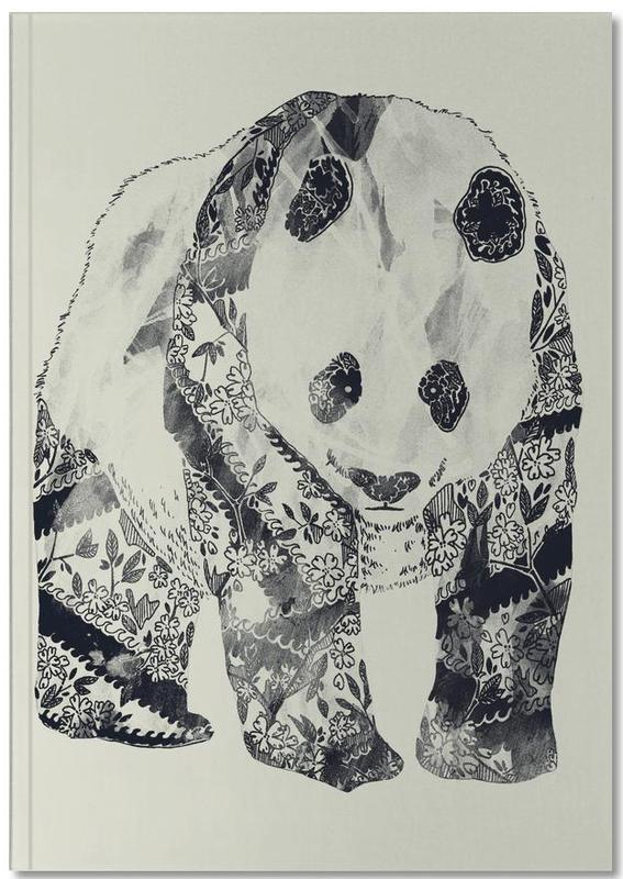 Tattooed Panda Notebook