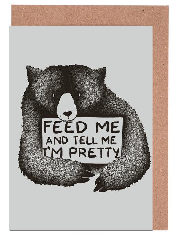 Feed Me Greeting Card Set