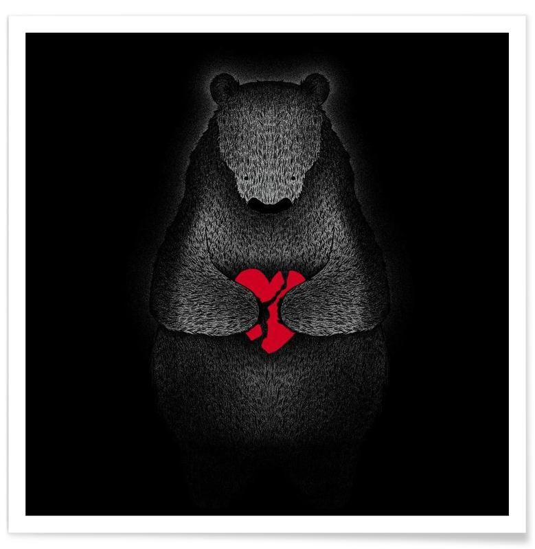 Bears, Broken Poster