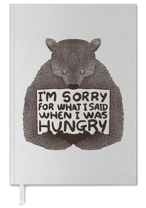 I'm Sorry For What I Said When I Was Hungry Personal Planner