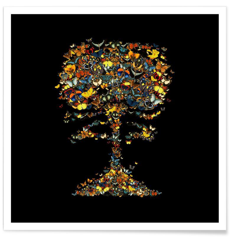 Schmetterlinge, Atomic Butterfly -Poster