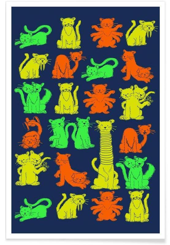 Creatures & Hybrids, Freakat Show Poster