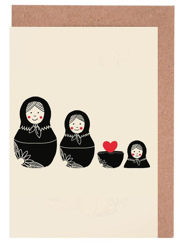 Beauty Inside Greeting Card Set