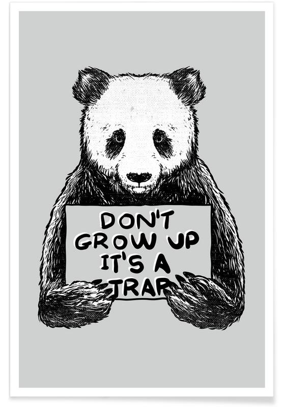 Don't Grow up Poster