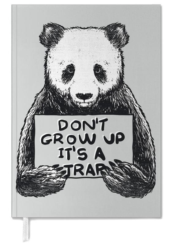 Zwart en wit, Panda's, Don't Grow up agenda