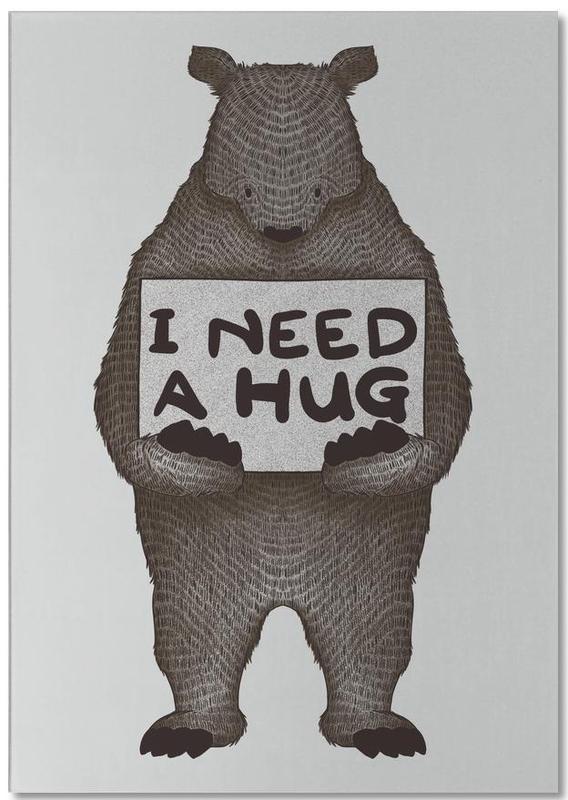 I Need a Hug Notepad