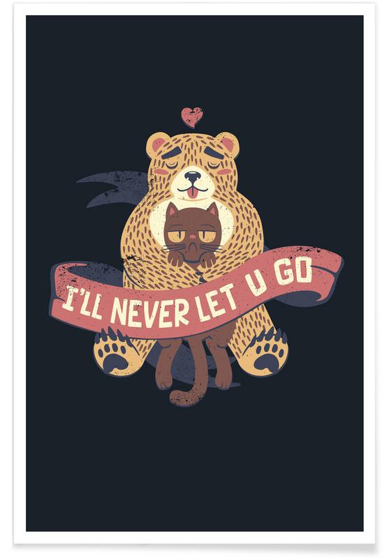 Valentine's Day, I'll Never Let You Go Poster