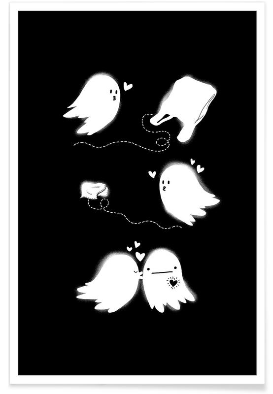 Couples, Anniversaries & Love, Black & White, Love After Death Poster