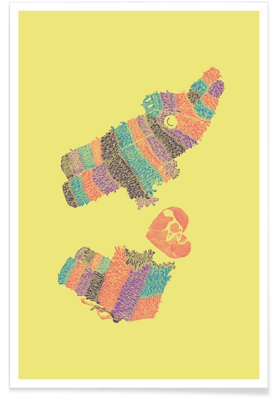 Llamas, Pinatas Have Feelings Too Poster