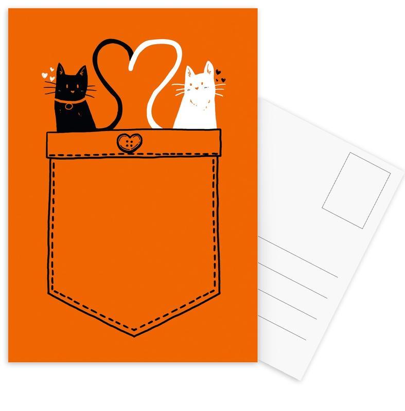 PoCats Postcard Set