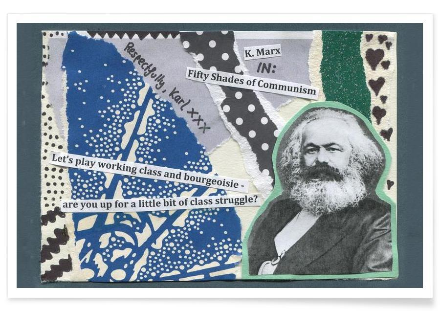 Personnages politiques, Karl Marx affiche