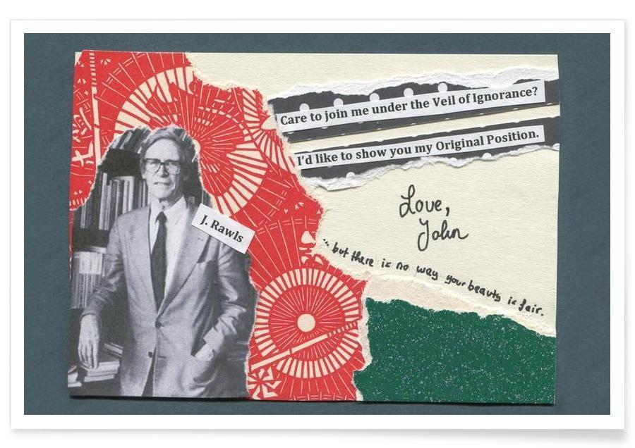 John Rawls -Poster