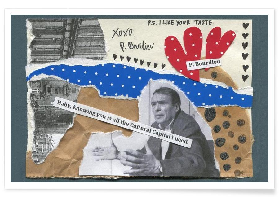 Pierre Bourdieu Poster