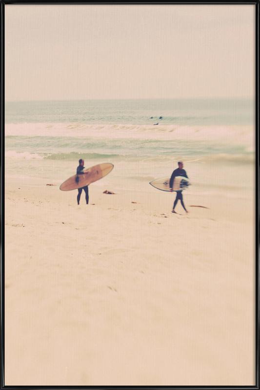 Two Surfers affiche encadrée