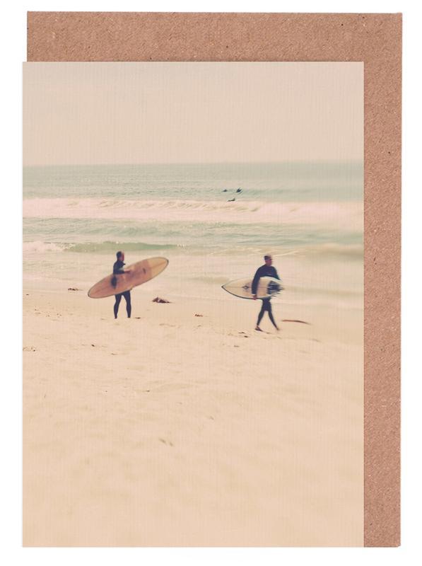 Two Surfers cartes de vœux