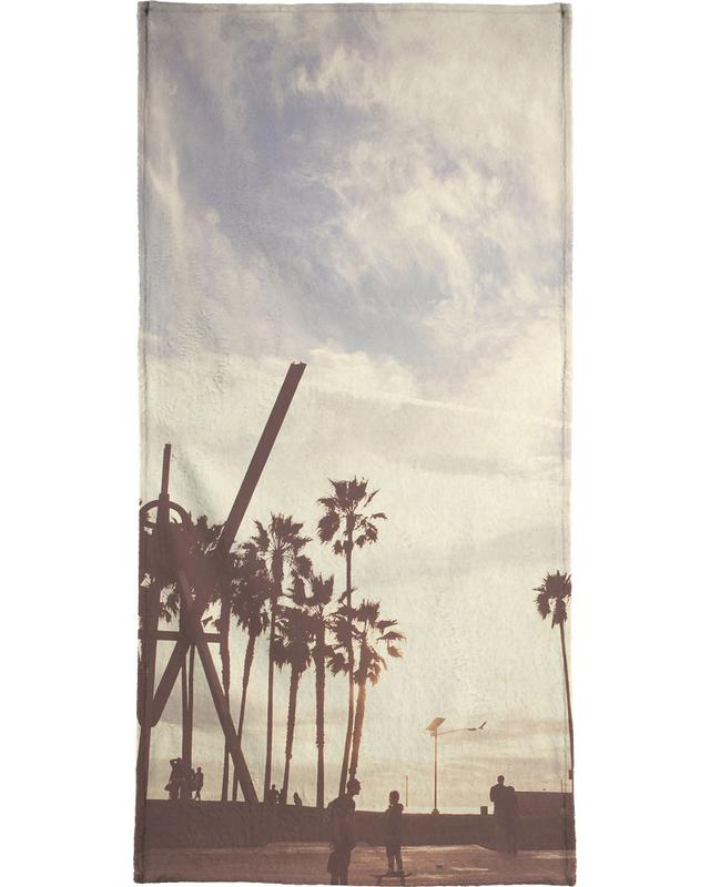 Vintage Venice -Strandtuch
