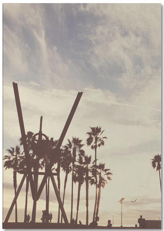 Los Angeles, Ciels & nuages, Vintage Venice bloc-notes
