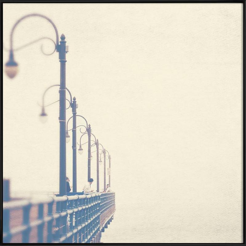 Meet me at the pier no. 1 ingelijste poster