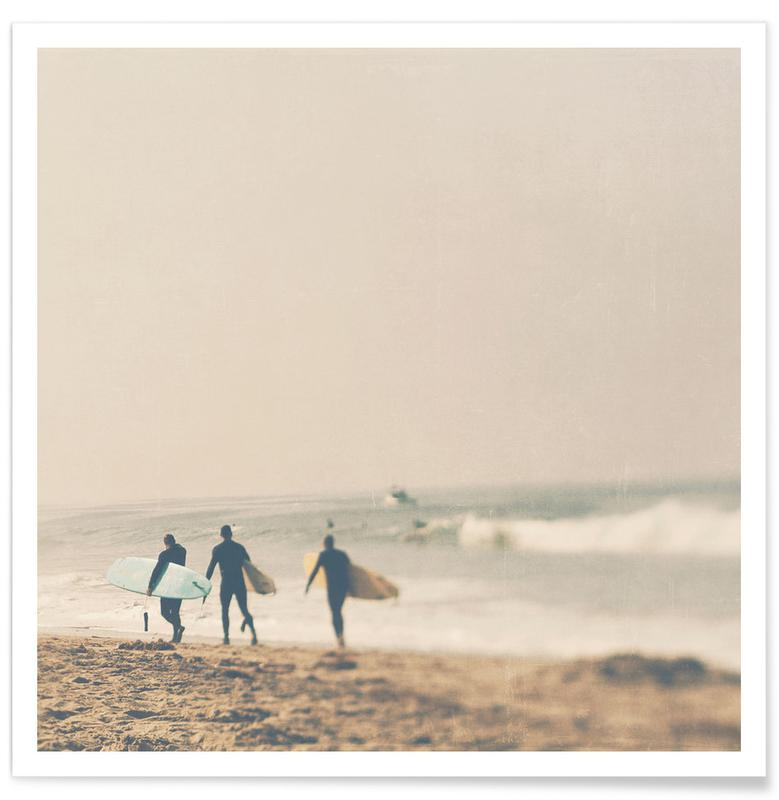 Plages, Surf, In 3s affiche