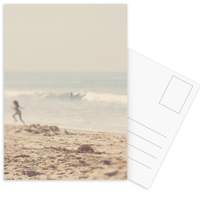 Stranden, free ansichtkaartenset