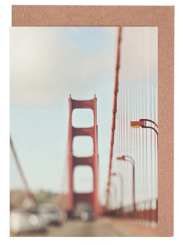 A Memory San Francisco -Grußkarten-Set