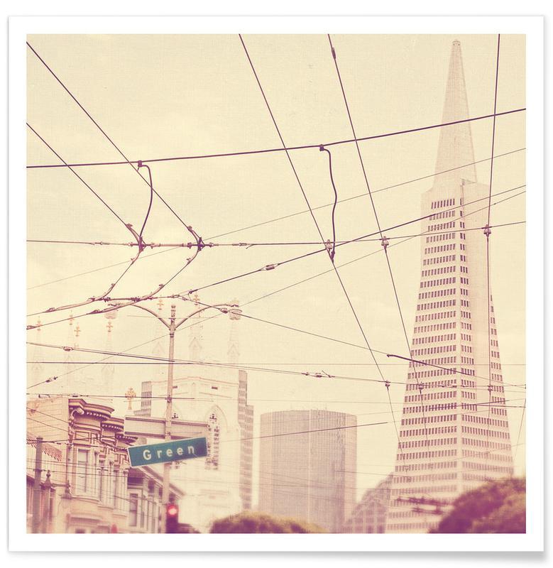 Détails architecturaux, Monuments et vues, Lines + Lines affiche