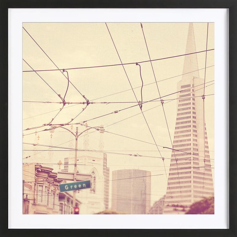 Lines + Lines Framed Print