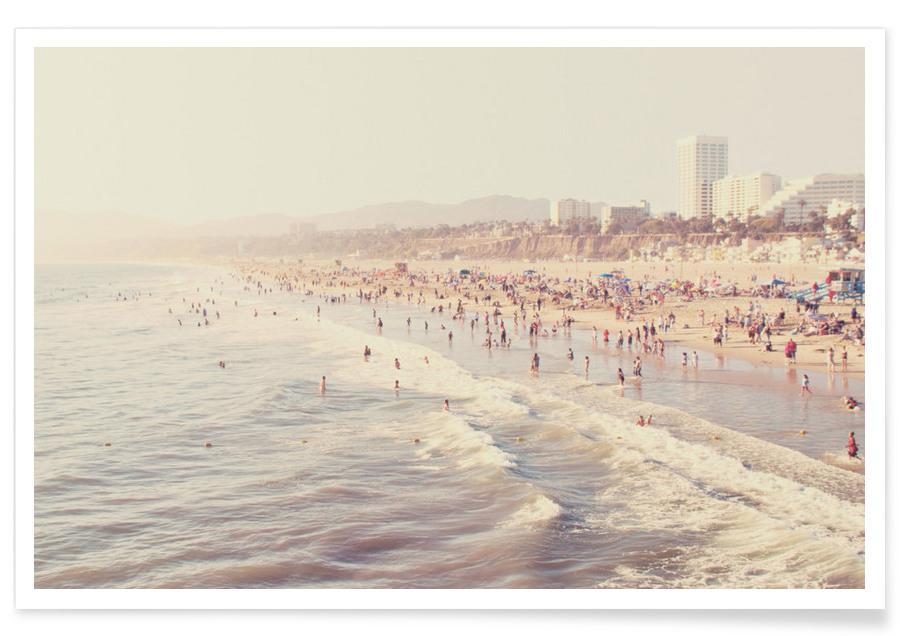 Plages, Sunny California affiche