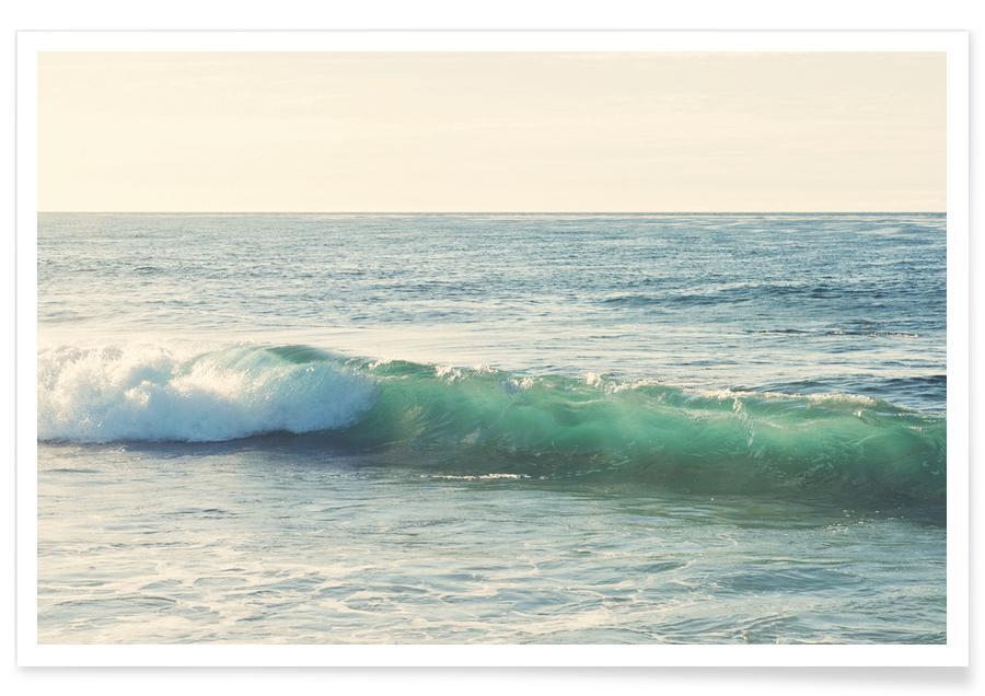 Océans, mers & lacs, Curl affiche