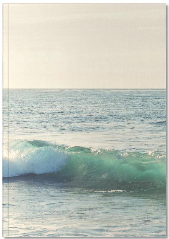 Ocean, Lake & Seascape, Curl Notebook