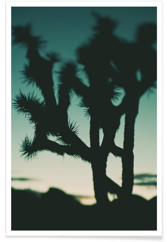 Sonnenuntergänge, Bäume, Last Night I Dreamt of the Desert No.1 -Poster