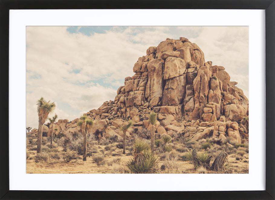 Rocks ingelijste print