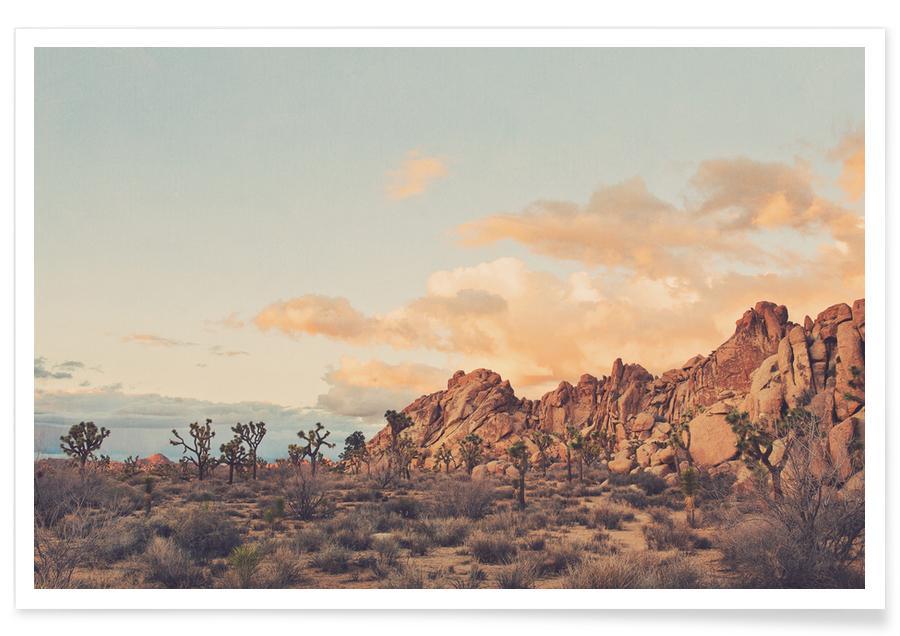 Déserts, Montagnes, Couchers de soleil, Winter in the Desert No.2 affiche