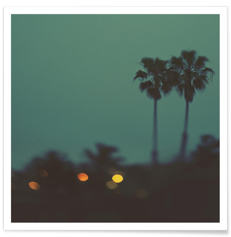 Beaches, Sunsets, California Nights Poster