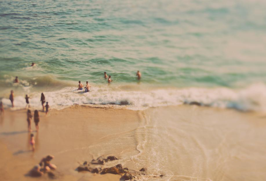 California Summer No.1 Acrylic Print
