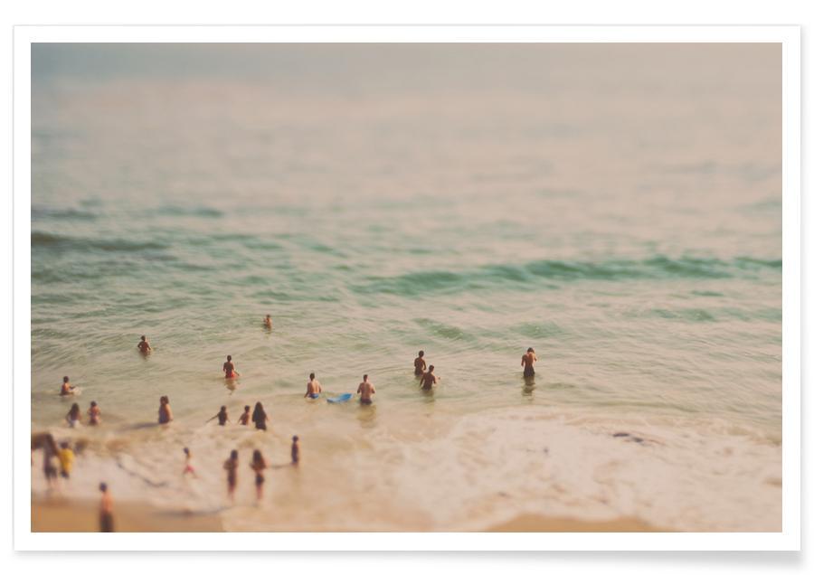 Plages, Océans, mers & lacs, California Summer No.3 affiche